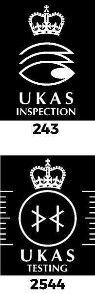 UKAS Logos Stacked
